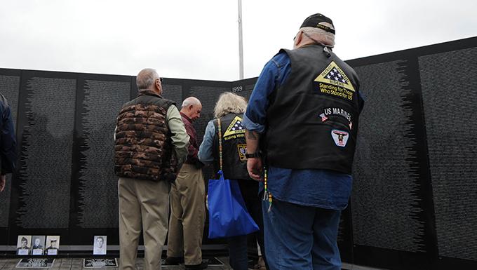 Tupelo unveils Vietnam Veterans Memorial Wall